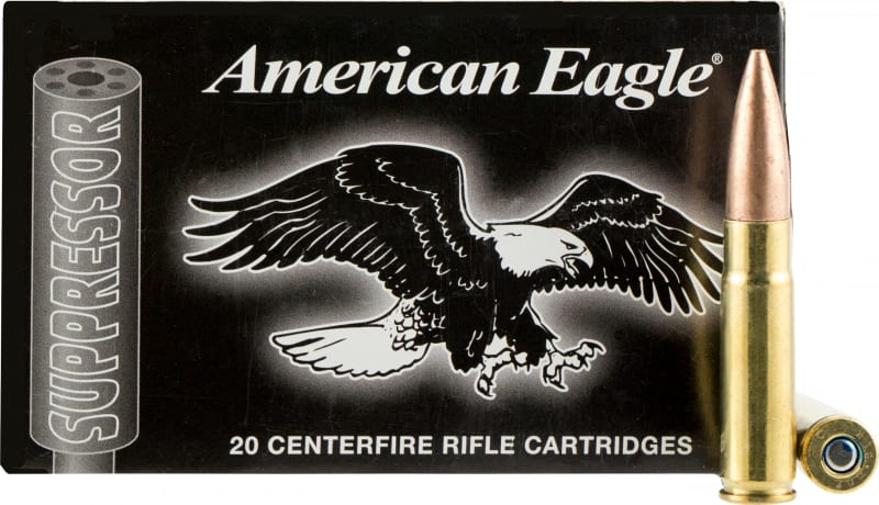 Federal AE300BLKSUP2 American Eagle Suppressor 300 AAC Blackout 220 OTM 20Bx/25Case - 20rd Box