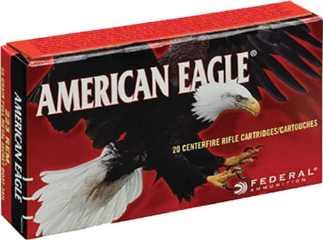 Federal AE223 American Eagle .223/5.56 NATO 55  GR Full Metal Jacket Boat Tail - 20rd Box