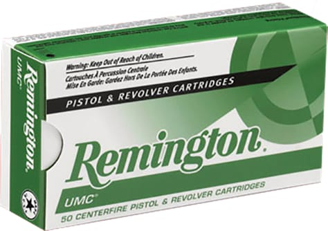 Remington Ammunition L9MM2 UMC 9mm Metal Case 124  GR - 50rd Box
