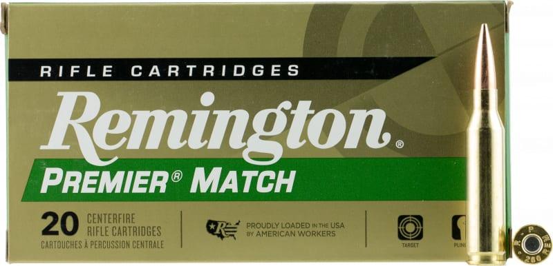 Remington Ammunition RM260R Premier 260 Remington 140 GR Open Tip Match Boat Tail - 20rd Box