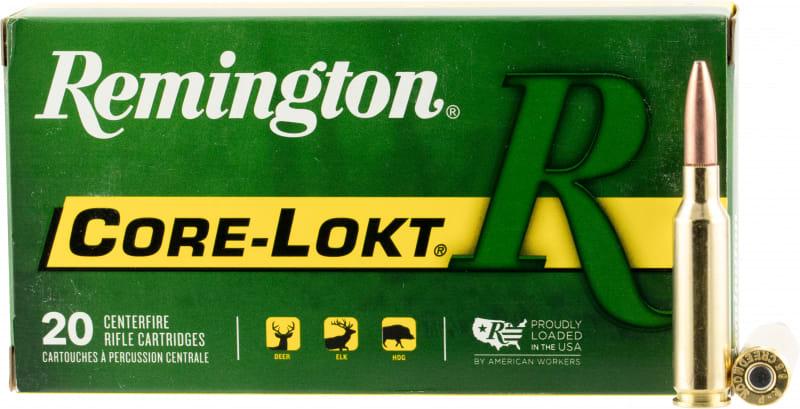 Remington Ammunition R65CR1 Core-Lokt 6.5 Creedmoor 140 GR Pointed Soft Point - 20rd Box