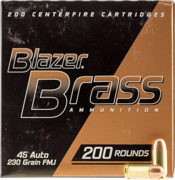 CCI 52301 Blazer 45 ACP 230 GR Full Metal Jacket Round Nose - 200rd Box