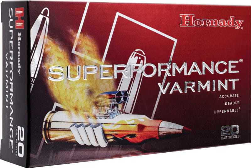 Hornady 8025 Superformance Varmint .223/5.56 NATO 53 GR V-Max - 20rd Box
