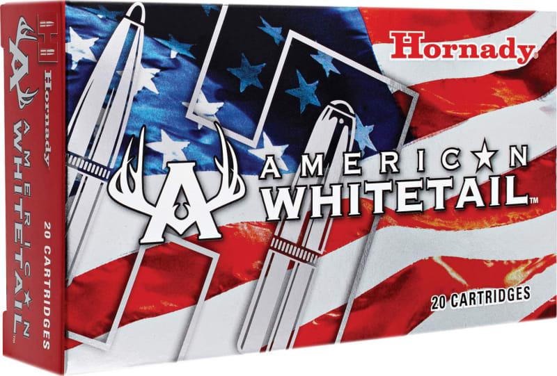 Hornady 8144 American Whitetail 25-06 Remington 117 GR InterLock - 20rd Box