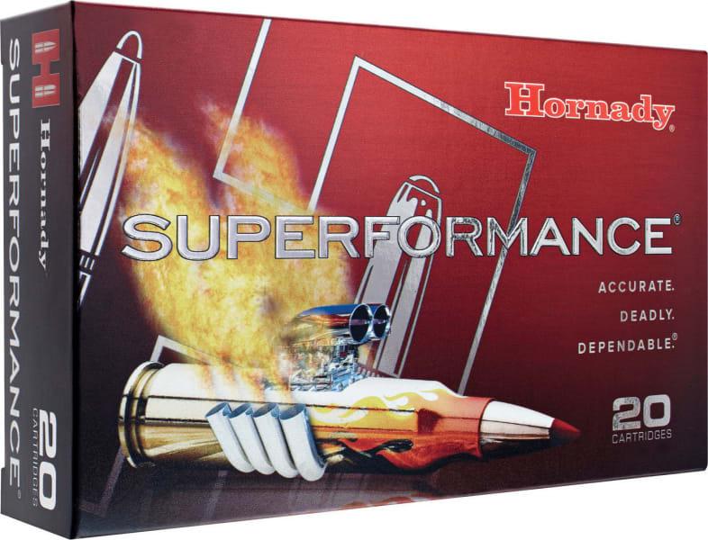 Hornady 81446 Superformance 25-06 Rem Gilding Metal Expanding 90 GR - 20rd Box