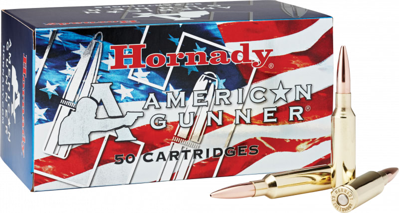 Hornady 81482 American Gunner 6.5 Creedmoor 140 GR Bthp - 50rd Box
