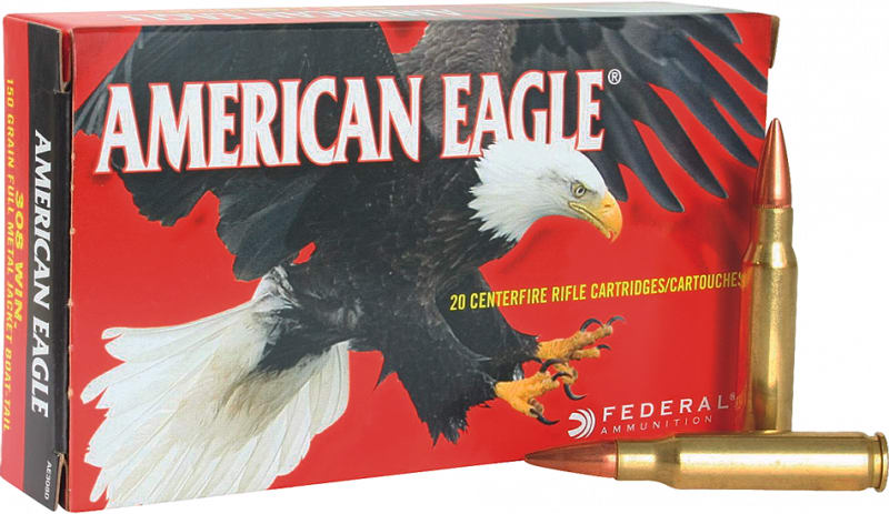 Federal AE223G American Eagle .223/5.56 NATO 50 GR Jacketed Hollow Point - 20rd Box
