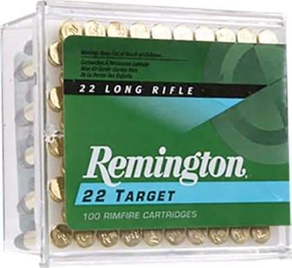 Remington 6100 Target 22 Long Rifle Round Nose 40 GR - 100rd Box