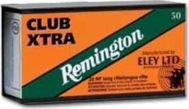 Remington Ammunition RE22CX Eley 22 Long Rifle (LR) 40 GR Lead Round Nose - 50rd Box