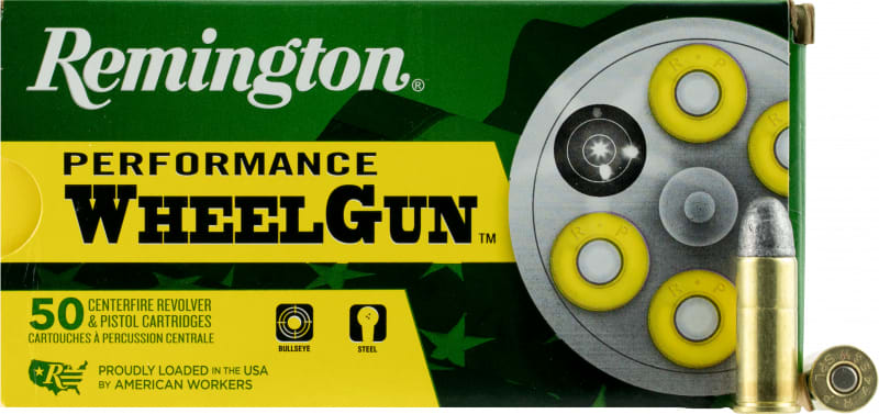 Remington Ammunition RPW44SW Performance WheelGun 44 Smith & Wesson Special 246 GR Lead Round Nose - 50rd Box