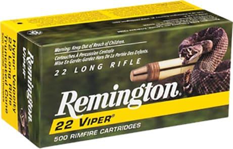 Remington Ammunition 1900 Viper 22 LR Truncated Cone Solid 36 GR - 100rd Box