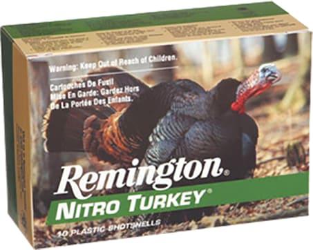 "Remington Ammunition NT20M5 Nitro Turkey 20GA 3"" 1-1/4oz #5 Shot - 10sh Box"