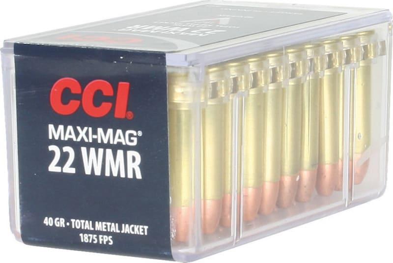 CCI 0023 Select 22 Win Mag Total Metal Jacket 40 GR - 50rd Box