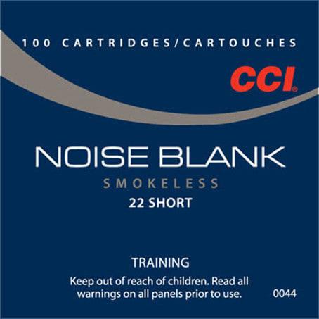 CCI 0044 Blank Paper Blank 22 Short - 100rd Box