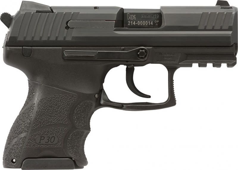 "Heckler & Koch 930SK V3 9mm Pistol, 3.27"" Subcompact Rear Decocking Button - 730903KA5"