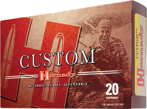 Hornady 8056 Custom 270 Winchester 140 GR Boat Tail Soft Point - 20rd Box