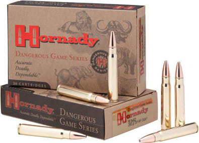 Hornady 8508 Dangerous Game 375 Holland & Holland Magnum 270 GR Spire Point-Recoil Proof - 20rd Box