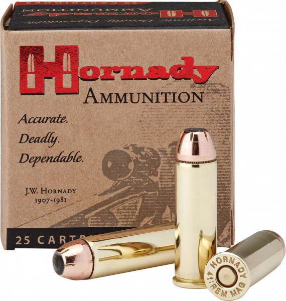 Hornady 9077 Custom 41 Remington Magnum 210 GR XTP Mag - 20rd Box