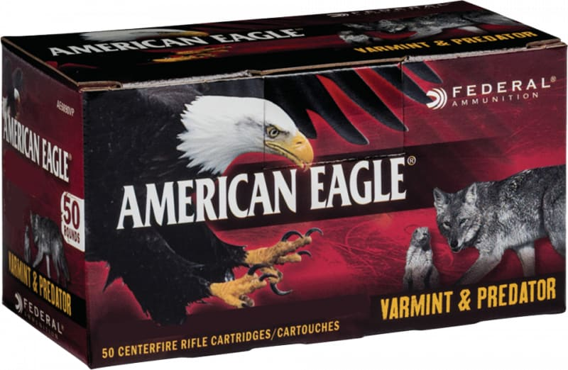 Federal AE6890VP American Eagle 6.8mm Remington SPC 90 GR Jacketed Hollow Point - 50rd Box