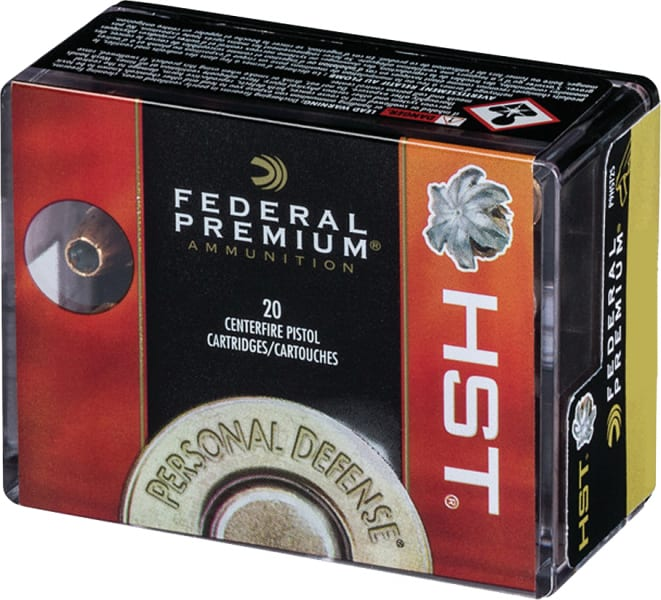 Federal P9HST2S Personal Defense 9mm Luger 147 GR Jacketed Hollow Point - 20rd Box