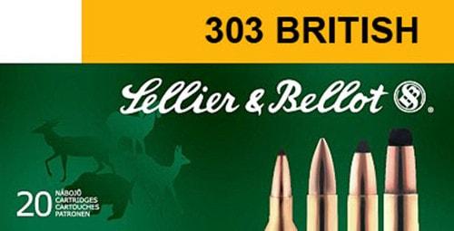 Sellier & Bellot SB303B Rifle 303 British 150 GR Soft Point - 20rd Box