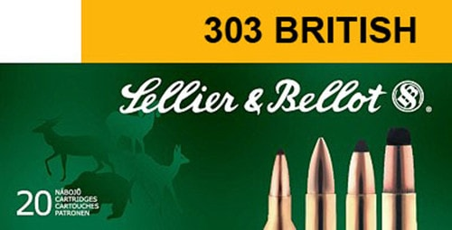 Sellier & Bellot SB303A Rifle Training 303 British 180  GR FMJ - 20rd Box
