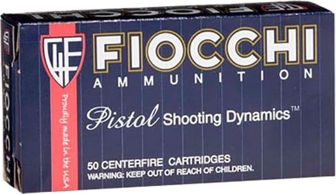 Fiocchi 9APHP Shooting Dynamics 9mm Luger 115  GR Jacketed Hollow Point - 50rd Box