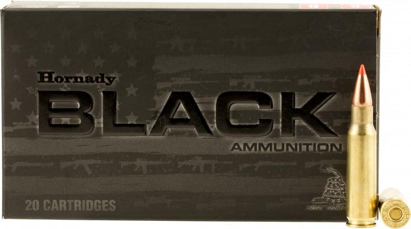 Hornady 83464 Black 6.8mm Remington SPC 110 GR V-Max - 20rd Box