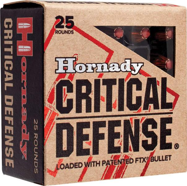 Hornady 91000 Critical Defense 9x18 Makarov 95 GR Flex Tip Expanding - 25rd Box