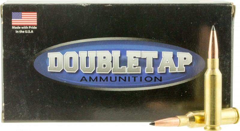DoubleTap Ammunition 65CM130SS Desert Tech Longrange 6.5 Creedmoor 130 GR Swift A-Frame - 20rd Box