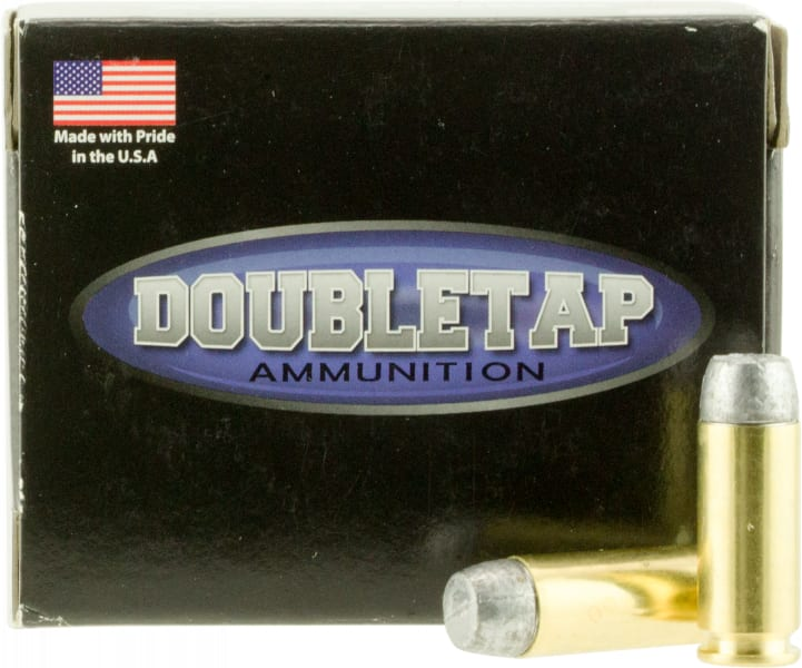 DoubleTap Ammunition 10MM200HC DT Hunter 10mm Automatic 200 GR Hard Cast - 20rd Box