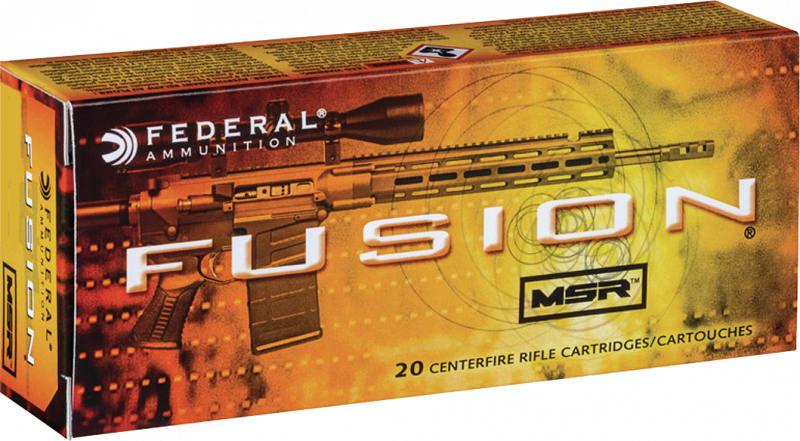 Federal F65GDLMSR1 Fusion MSR 6.5 Grendel 120 GR Soft Point - 20rd Box