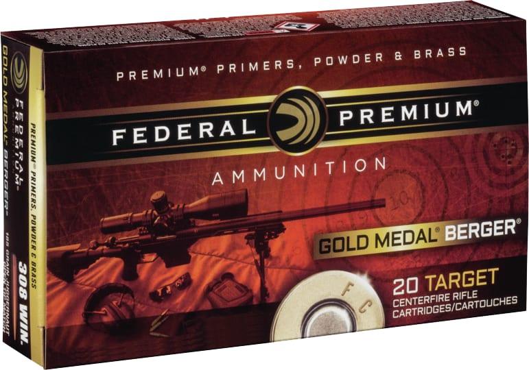 Federal GM65CRDBH130 Gold Medal 6.5 Creedmoor 130 GR Open Tip Match - 20rd Box
