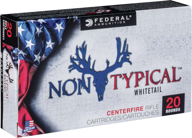 Federal 65CDT140 Non-Typical 6.5 Creedmoor 140 GR Soft Point - 20rd Box