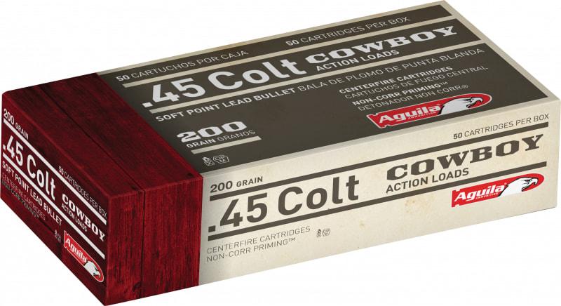 Aguila 1E454319 45 Colt (LC) 200 GR Soft Point - 50rd Box