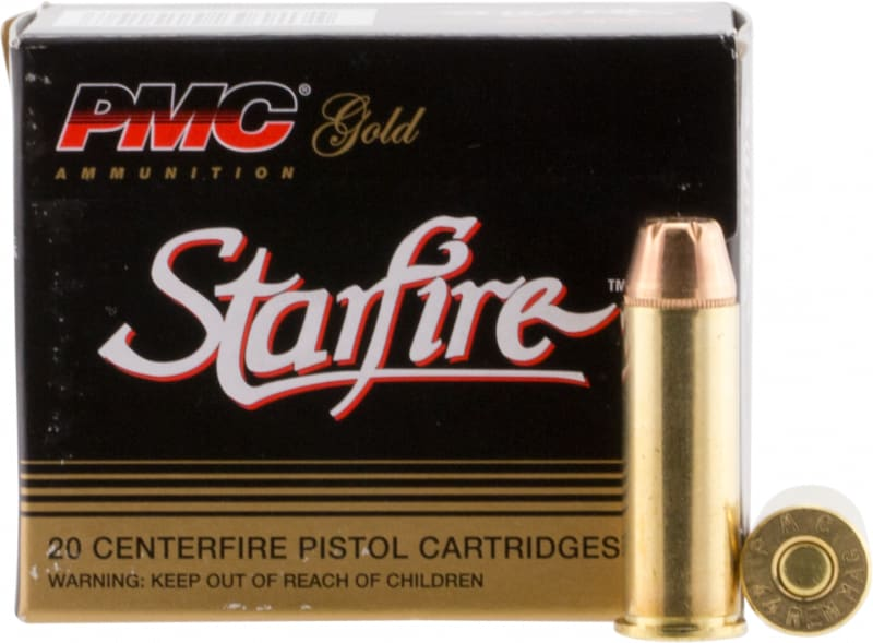 PMC 44SFA Starfire Gold Line 44 Rem Mag Starfire Hollow Point 240 GR - 20rd Box