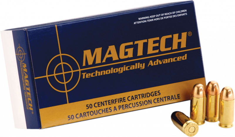 MagTech 38N Sport Shooting 38 Special +P 158 GR Semi-Jacketed Soft Point - 50rd Box