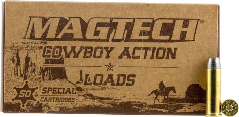 MagTech 45F Cowboy Action 45 Colt (LC) 200 GR Lead Flat Nose - 50rd Box