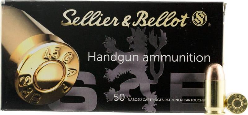 Sellier & Bellot SB45GAP Handgun 45 GAP 230 GR FMJ - 50rd Box