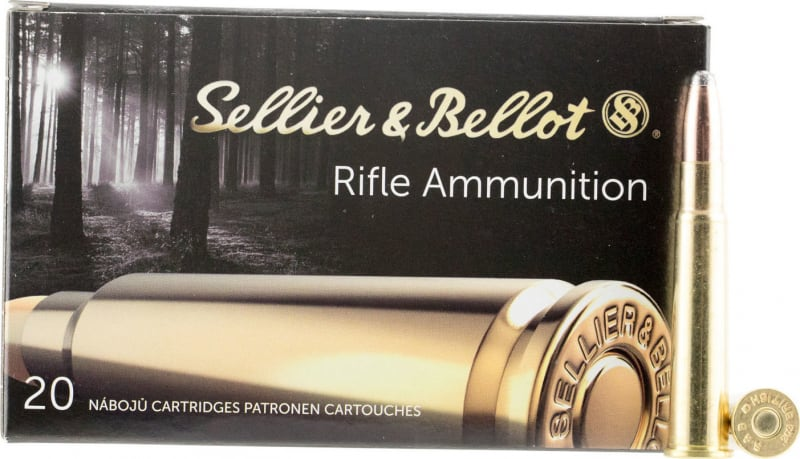 Sellier & Bellot SB303C Rifle 303 British 180 GR Soft Point - 20rd Box