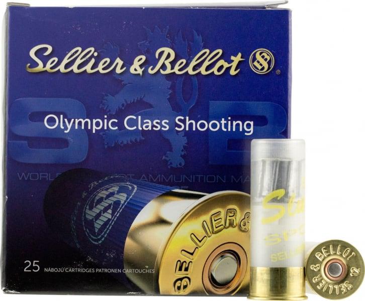"""Sellier & Bellot V051962U 12GA 2.75"""" 1oz Slug 2.75"""" 1oz 20Bx/10Cs - 25sh Box"""