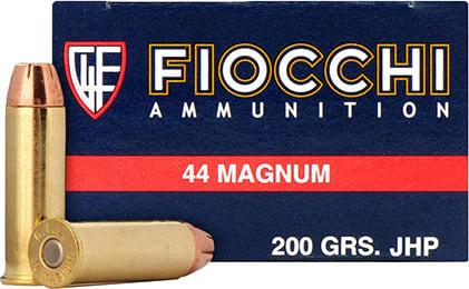 Fiocchi 44B500 Shooting Dynamics 44 Remington Magnum 200 GR Semi-Jacketed Hollow Point - 50rd Box
