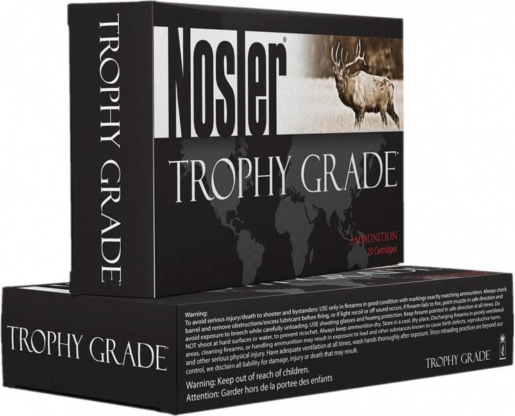 Nosler 48263 Trophy 243Win 90 GR AccuBond Brass - 20rd Box