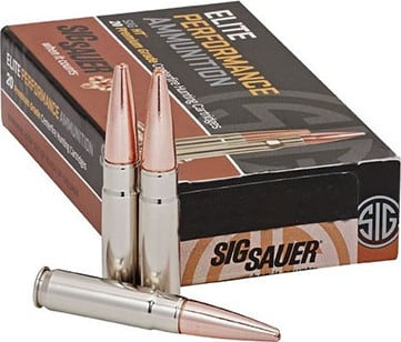 Sig Sauer E243V120 Hunting 243 Winchester 55 GR Tipped Hollow Point - 20rd Box