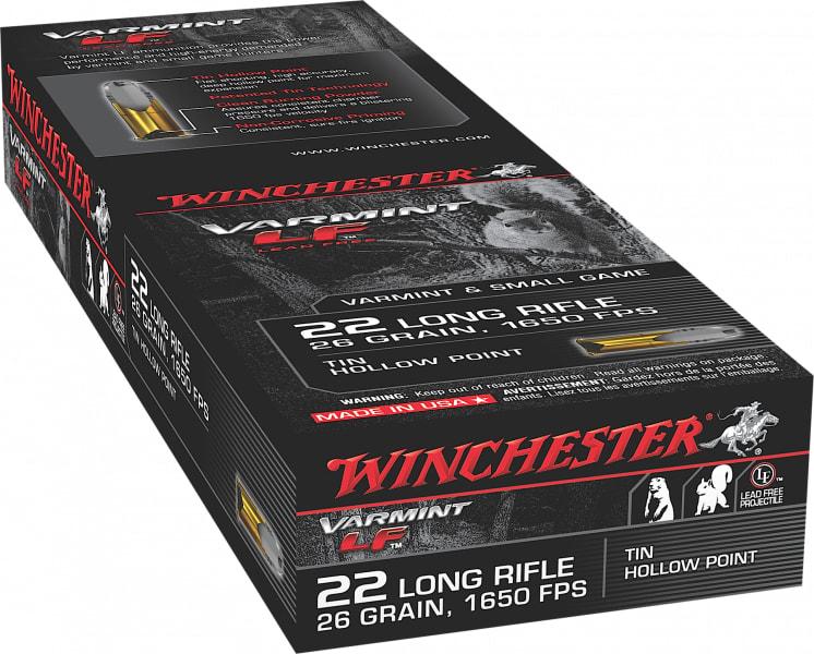 Winchester Ammo X22LRHLF Super-X 22 Long Rifle 26 GR Hollow Point - 50rd Box