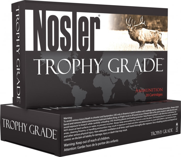 Nosler 60061 Nosler Custom 300 Rem Short Action Ultra Magnum 165 GR Partition - 20rd Box