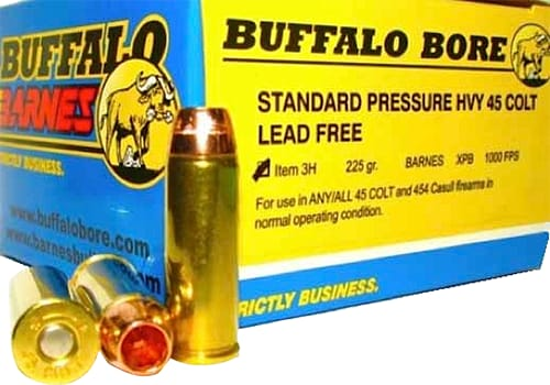 Buffalo Bore Ammunition 3H/20 45 Colt Lead-Free Barnes XPB 225 GR - 20rd Box