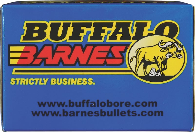 Buffalo Bore Ammunition 24H/20 9mm Luger +P+ 115 GR Barnes TAC-XP - 20rd Box