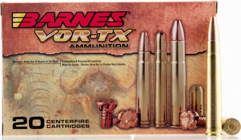 Barnes 22022 VOR-TX 458 Winchester Magnum TSX Flat Base 450 GR - 20rd Box