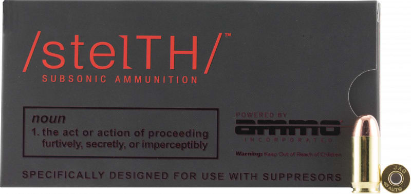 Ammo 45230TMC Stelth 45 230SUB - 50rd Box